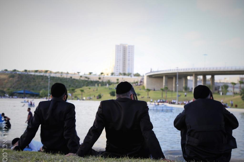 צפו: החרדים ממודיעין עילית פשטו על הפארק