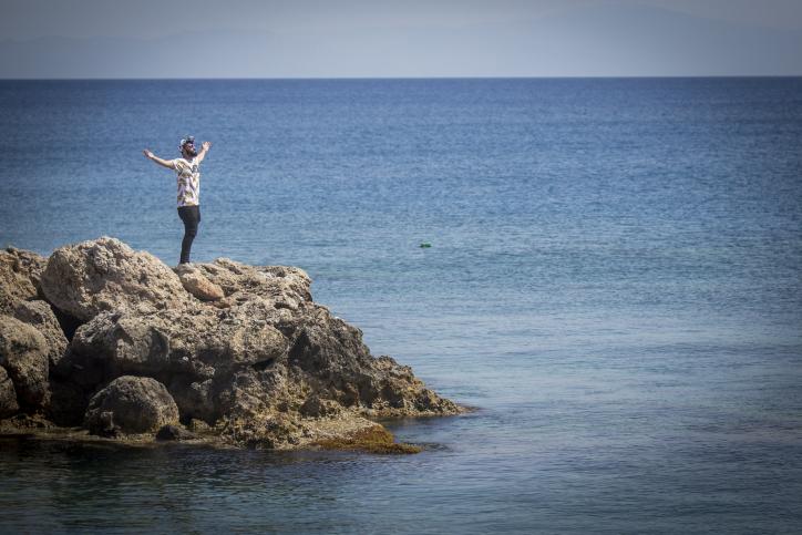 האי היווני רודוס: מרינה, יקב וקצת תיישים
