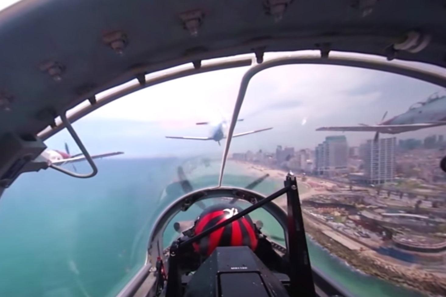 אל תחמיצו: המטס האווירובטי ב-360 מעלות