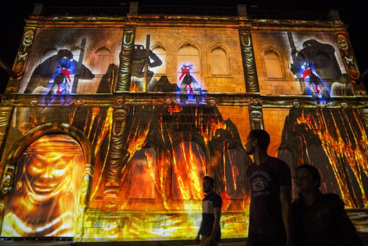 ירושלים: מבט ראשון לפסטיבל האור • צפו