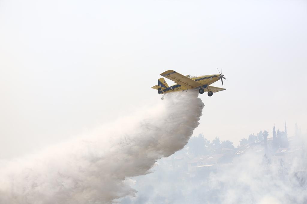 שריפת ענק במונטנגרו: ישראל שלחה מטוסים