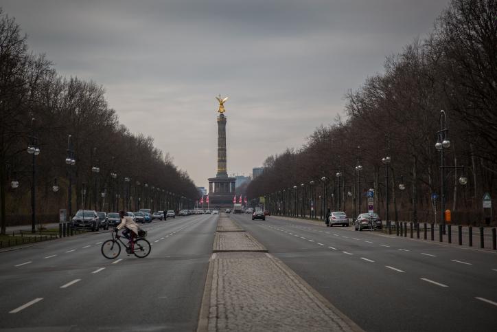 ברנדנבורג, אוברבאום והרייכטאנג: סיור מצולם בברלין