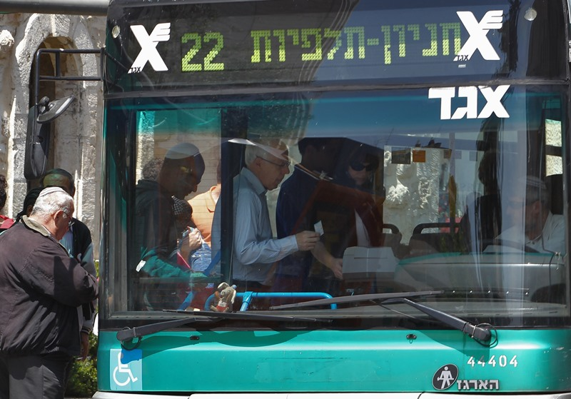 Egged strike In Yerushalayim On Wednesday