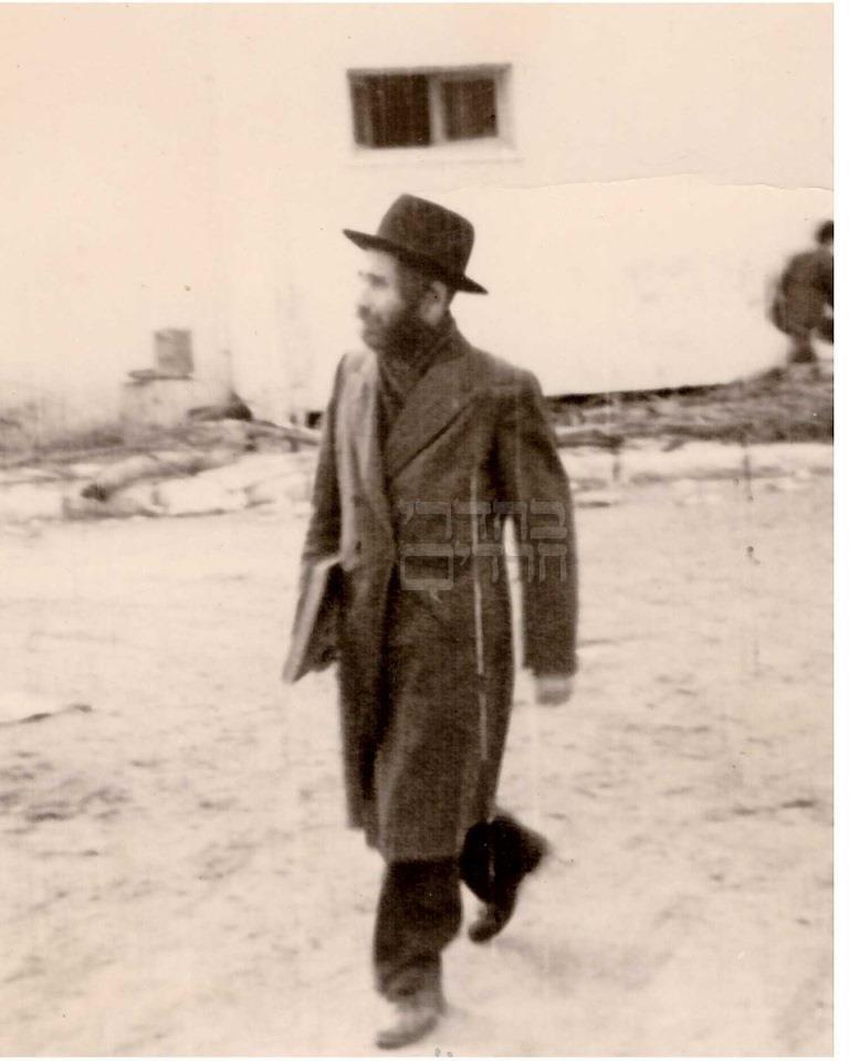 """גילויים חדשים ותמונות: """"רבי אהרן לייב"""""""