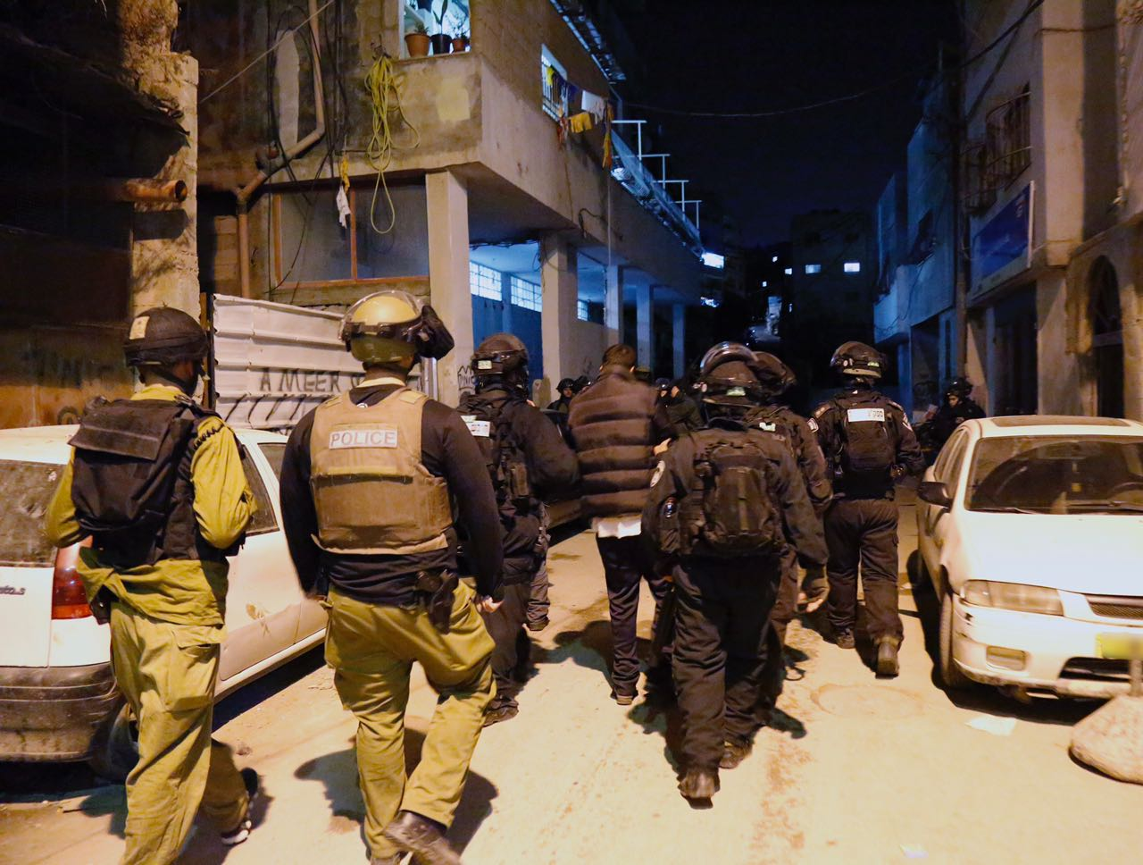 Overnight Police Raid Shuafat Refugee Camp