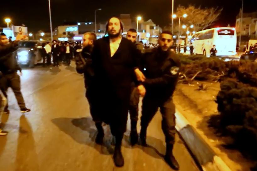 צפו: אחרי האבן - מהומה ומעצר בבית שמש