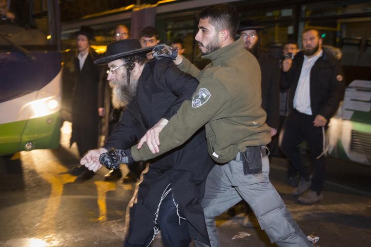 ירושלים בערה עד השעות הקטנות של הלילה