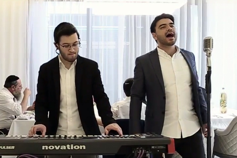 ברונכר ונתנאל ישראל בסינגל קליפ לשבת:
