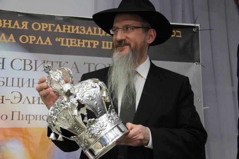 מרגש: באוריול שברוסיה הוכנס ספר תורה חדש • גלריה