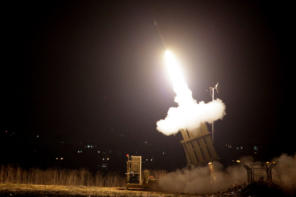 Iron Dome Intercepts Barrage Of Rockets Over Eilat