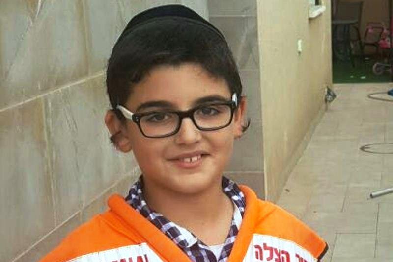 מרגש: אריאל בן ה-10 תרם את כל דמי הכיס לארגון ההצלה
