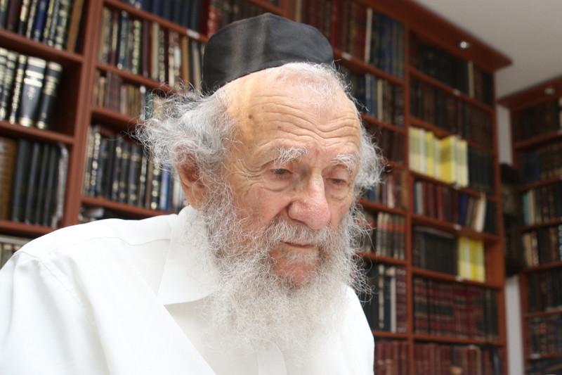 השמחה שפרצה אצל הרב אדלשטיין