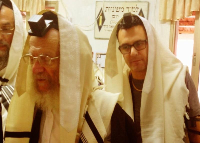 צפו: רבי יעקב, עודד מנשה וברכת הכהנים