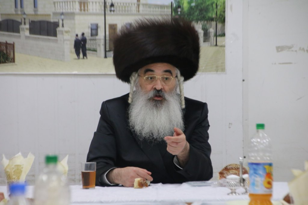 """הרבי מדושינסקיא סיים את השובבי""""ם באשדוד"""
