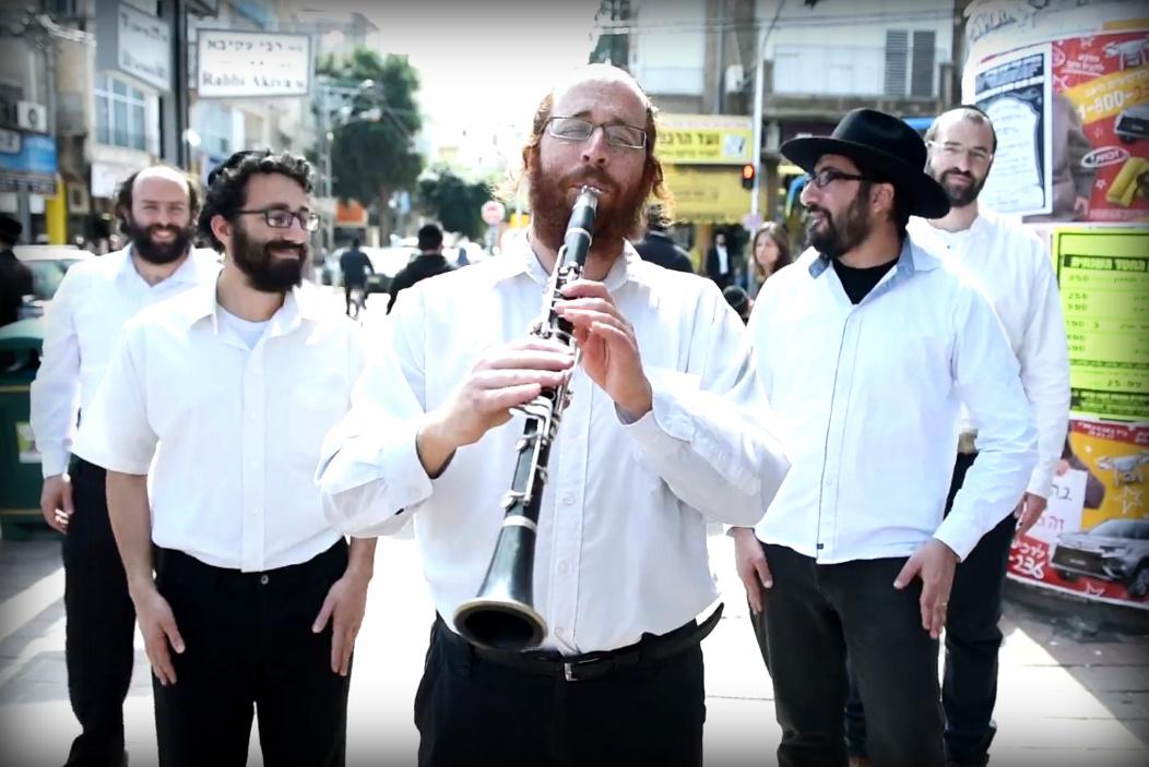 קאבר לאהוד בנאי, וקליפ: א יידישע ראסטמן
