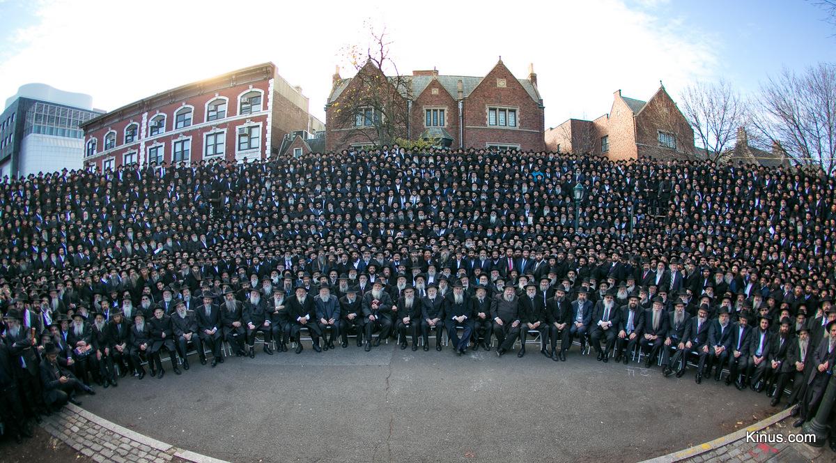 תיעוד קבוצתי: אלפי שלוחים בתמונה אחת