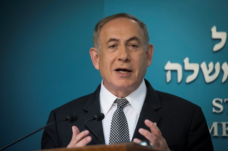 Netanyahu Calls For 'Responsible' Action
