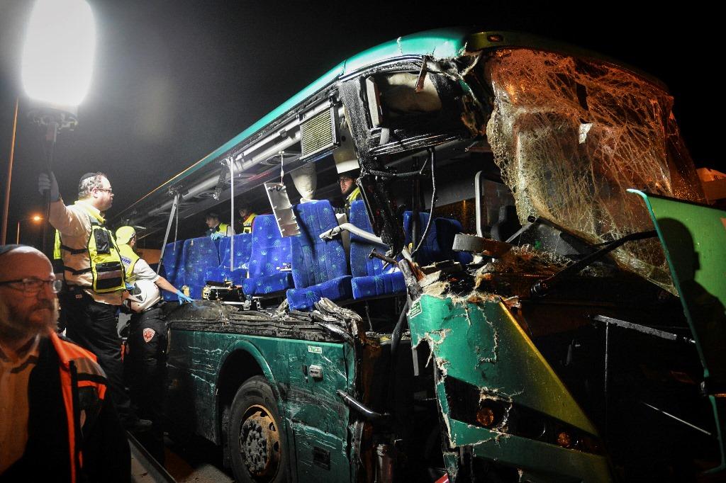 וידאו מצמרר: שחזור אסון 'אוטובוס המוות'