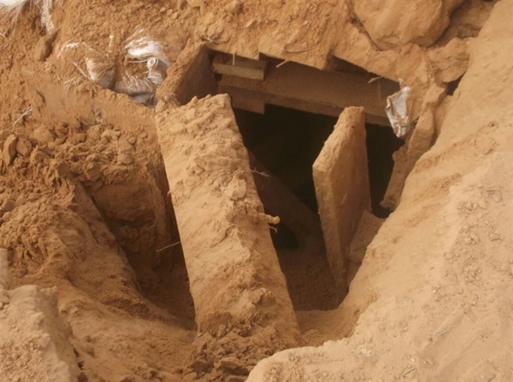 Motorbikes In Tunnels: Egyptian Army Discovers Tunnels From Gaza