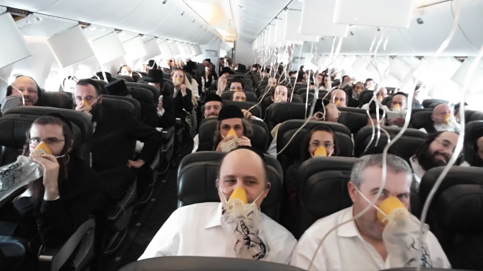 טיסת החמצן: זה הפיצוי לנוסעים החרדים. צפו