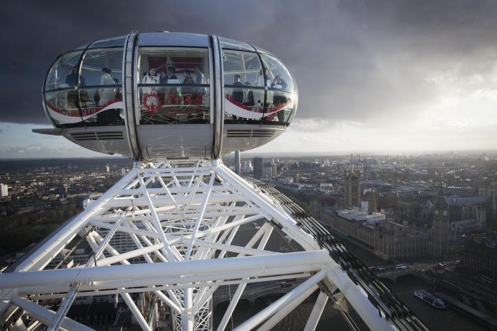 ממעוף הציפור: לונדון כפי שמעולם לא ראיתם