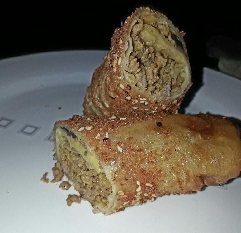 טורטיה מטוגנת במילוי בשר