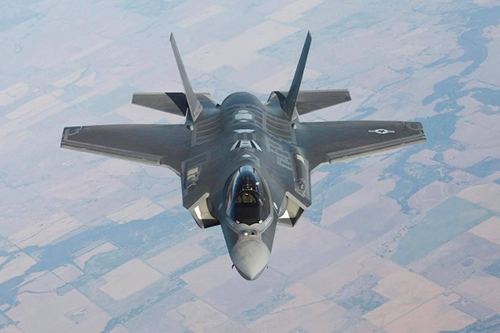 צפו: תדלוק באוויר של ה-F-35 בדרך לישראל