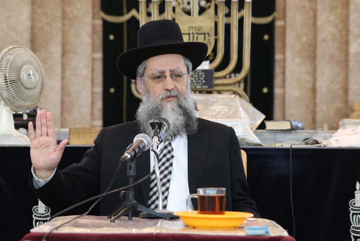 "Harav David Yosef: ""My goal is to add more core curriculum to the Shas Educational System"""